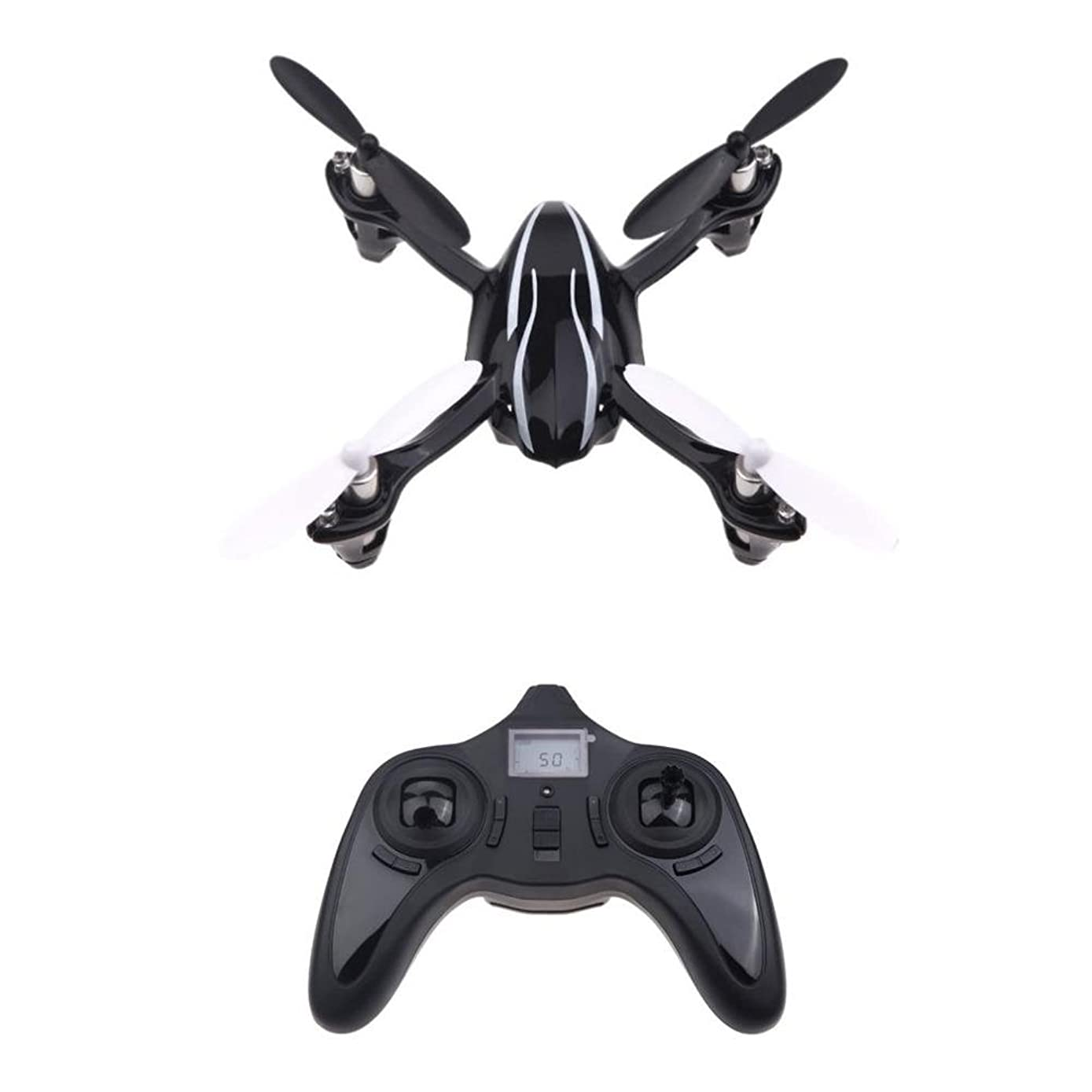 Hubsan H107L X4 RC Drone 2.4GHz 6-axis Gyro Portable Mini Helicopter RTF (Hot Drone 2.4GHz 6-axis Gyro Portable Mini Helicopter RTF RC Quadcopter With 3D Flips Rolls Built-in LED)