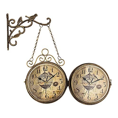 relojes de pared estacion de tren de la marca FAKEME