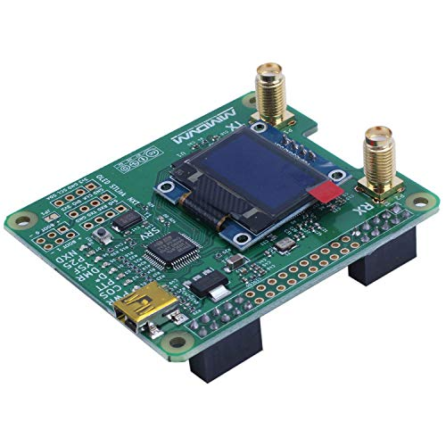 Andifany MMDVM_HS_Dual_Hat Duplex MMDVM Hotspot P25 DMR YSF NXDN Pi Revision 1.0 + OLED
