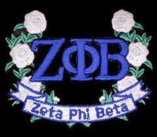 Zeta Phi Max 75% OFF Genuine Beta Emblem Patch Flower