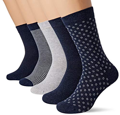 Schiesser Damen Damen (5PACK)  Matt Fein Socken,  Mehrfarbig (Sortiert 1 901),  35/38 ( Herstellergröße: 400) (5er Pack)