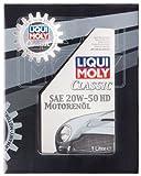 Liqui Moly 1128 Clásico Aceite del Motor SEA 20W-50 HD, 1 L
