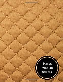 Boiler Daily Log Sheets: Boiler Checklist