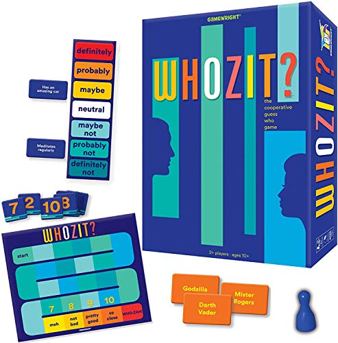 Gamewright Whozit? The Cooperative Guess Who Game JungleDealsBlog.com