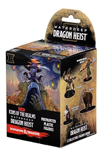 WOTC Dungeons & Dragons Icons of The Realms Waterdeep Dragon Heist Booster