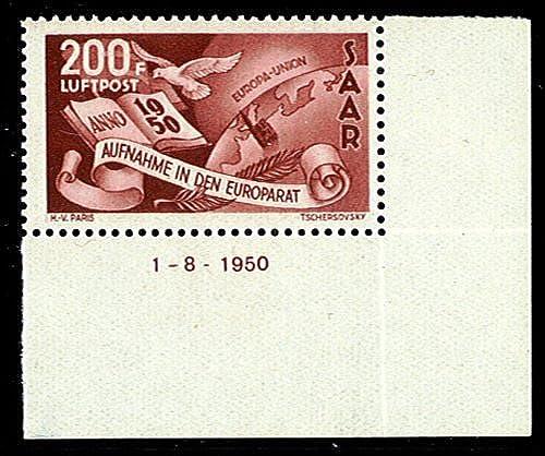 Goldhahn SAAR Nr. 298 Br postfrisch- Briefmarken für Sammler