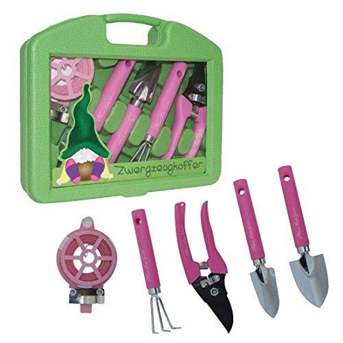 \'\'Mimi´s little Garden\'\' - Zwergzeugkoffer   Werkzeug Koffer Set Kinder   Werkzeugkasten   Geschenkidee für Kinder   Werkzeug pink   Geschenk für Frauen   Mädchen Werkzeugkoffer   Preis am Stiel®