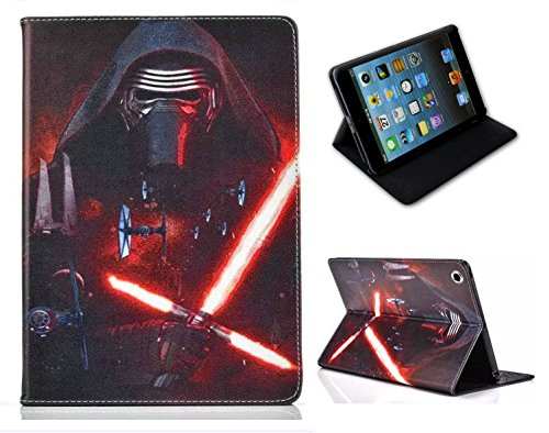 For Apple iPad Mini 1 2 3 4 5 Star Wars Jedi Force Awakens Kylo Ren Stand Case Cover