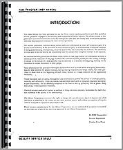 Oliver 1600 Service Manual