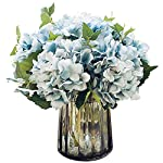 Felice-Arts-Pack-of-3-Artificial-Hydrangea-Flowers-Fake-Silk-Bouquet-Flower-for-Valentines-Day-Home-Wedding-DecorWhite