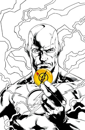 Justice League Rebirth 11 VC ''Le badge'' 2/2