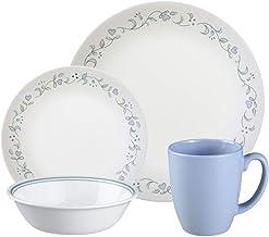 Corelle Livingware 16-Piece Dinnerware Set, Country Cottage, Service for 4
