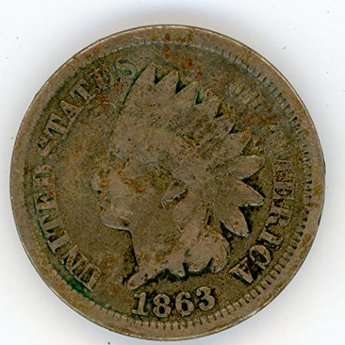 1863 Indian Head Penny G-04