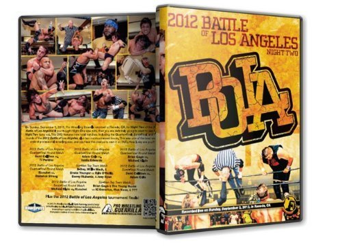 Pro Wrestling Guerrilla Battle of Los Angeles 2012 - Night 2 DVD by Michael Elgin