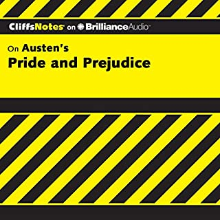 Pride and Prejudice: CliffsNotes                   Written by:                                                                                                                                 Marie Kalil M.A.                               Narrated by:                                                                                                                                 Ellen Grafton                      Length: 3 hrs and 15 mins     Not rated yet     Overall 0.0