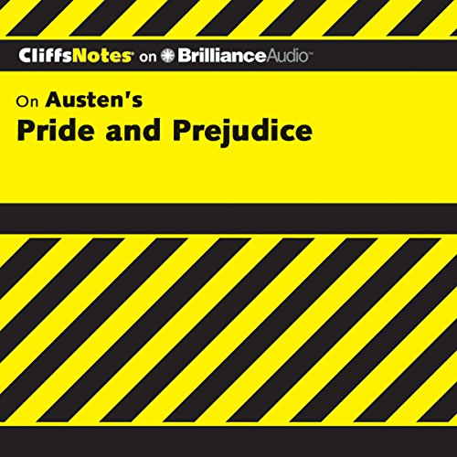 Pride and Prejudice: CliffsNotes cover art