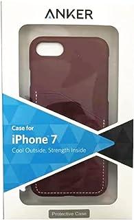 انكر بروتكتيف غطاء خلفي لجهاز ايفون 7 ، احمر ، A7065H91
