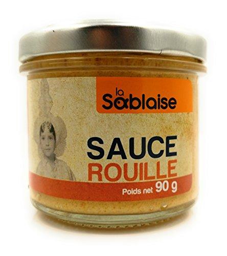 La Sablaise Feine Gourmet Sauce Rouille aus Frankreich 90 Gramm