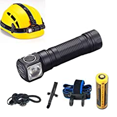 Super bright & latestCREE XP-L2 LED, Max 1200 lumens. High-Performance, High-Efficiency and energy conservation. Rugged indestructible aluminum body with anti-scratching type III hard anodization Multi-level dissipating heat designand new copper star...