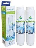 2x AquaHouse kompatibler Wasserfilter für Bosch Ultra Clarity 644845, Neff, Siemens, Miele, Gaggenau Kühlschrank