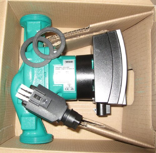 Wilo 4164002 Hocheffizienzpumpe Yonos Pico elektronisch geregelt, 230 V 25/1-4