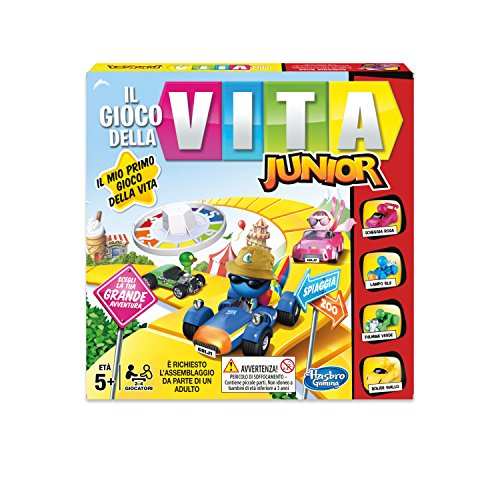 Hasbro Gaming - Das Spiel des Lebens Junior (Spiel in Box), B0654103