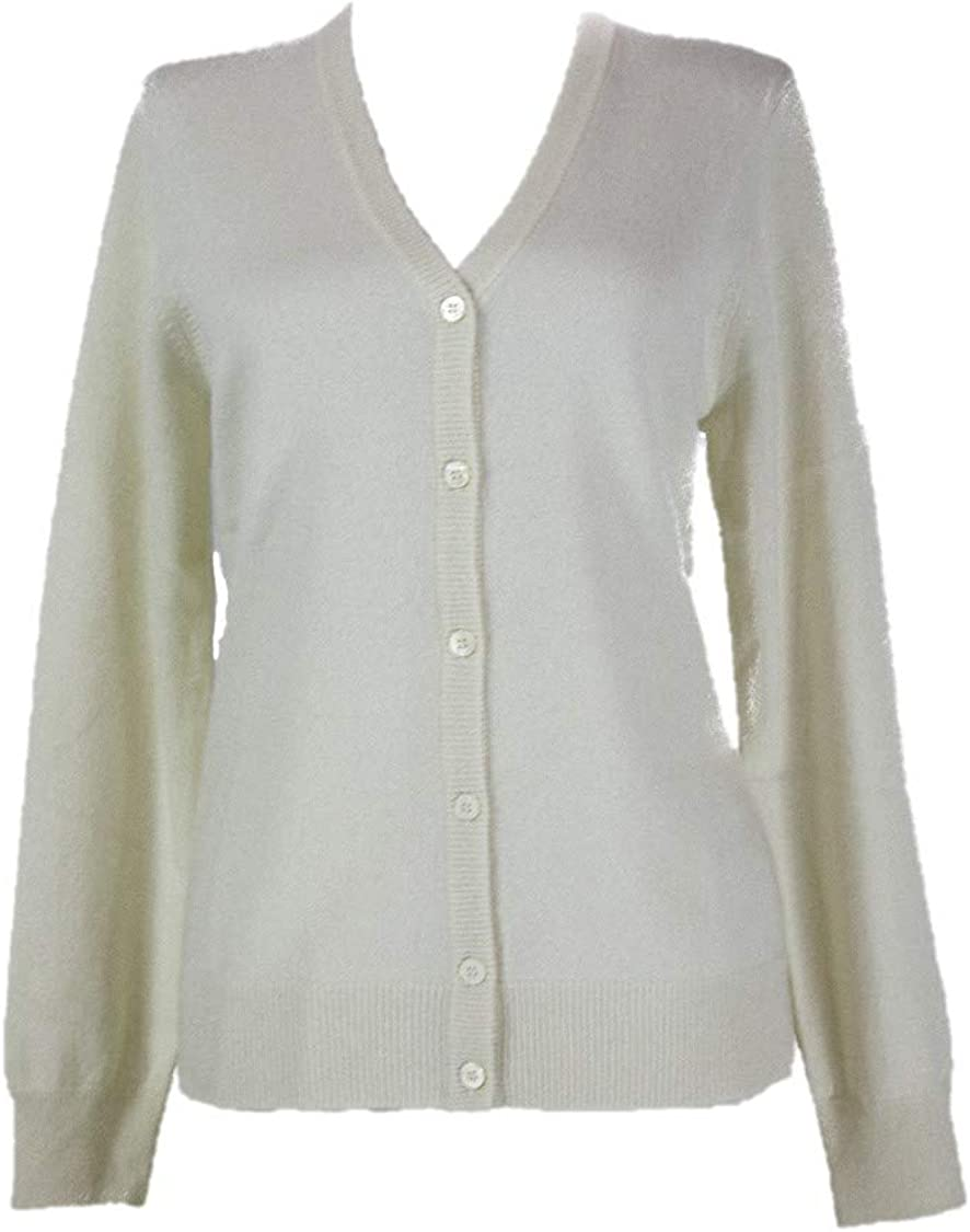 Shephe Womens Cardigan V Neck Cashmere Sweater