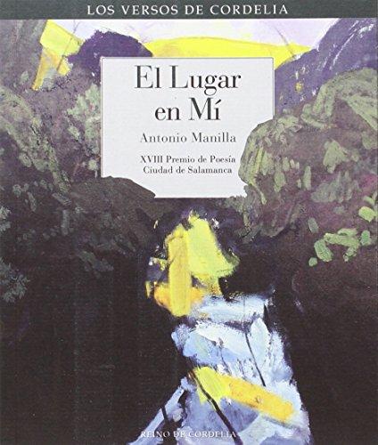 El lugar en mí: XVIII Premio de Poesía Ciudad de Salamanca