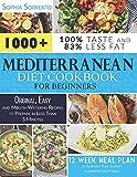 Best Mediterranean Cookbooks - Mediterranean Diet Cookbook for Beginners: 1000+ Original, Easy Review