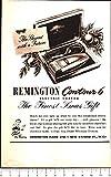 Advertising - Contour 6. Rasoio elettrico Remington - 1951