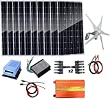 Turbina de Viento, 1,4 kW Energía Eólica Solar: turbina de...