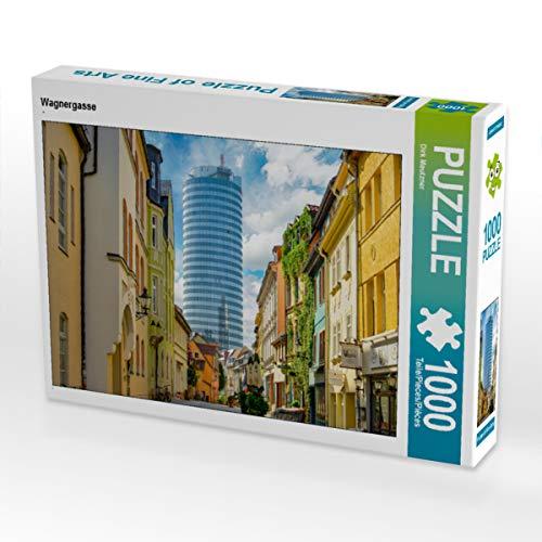 CALVENDO Puzzle Wagnergasse 1000 Teile Lege-Größe 64 x 48 cm Foto-Puzzle Bild von Dirk Meutzner
