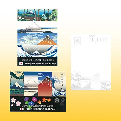 『日興美術 ポストカード 富嶽名作選 四季の富士山 10枚セット NRS0015』の2枚目の画像