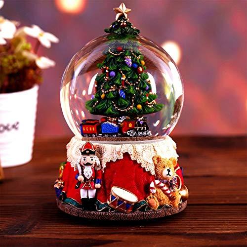 Caja De Música Para Árbol De Navidad - Bola De Nieve Musical...