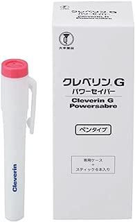 クレベリンG パワーセイバー ペンタイプ 容器1個 スティック6本
