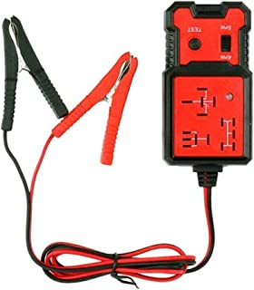 JAOCDOEN Testador de relé automotivo de 12 V, testador de relé eletrônico, verificador de bateria automotivo profissional