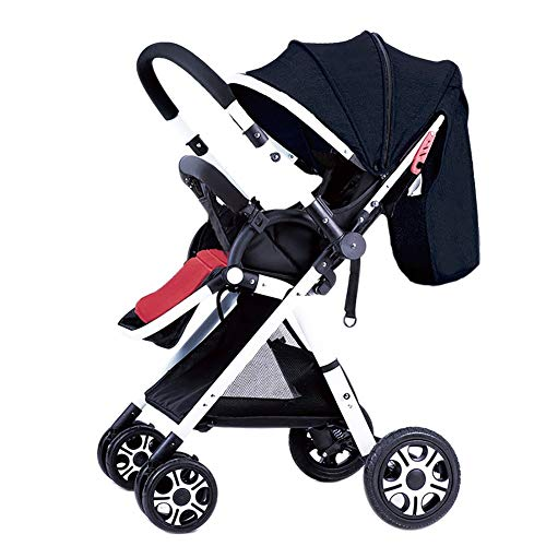 Check Out This High Landscape Baby Stroller Handle Reversible Infants Buggy Can Sit and Lie DownUltr...