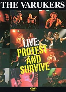 Protest & Survive: The Varukers Live [DVD] [Import]