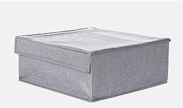 Drawer Organisers Foldable Bra Storage Box Oxford Cloth Washable Closet Storage Organizer (Can Store 8 Pcs Bras),B