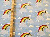Glünz Jersey Regenbogen / 0,5m / 16,50