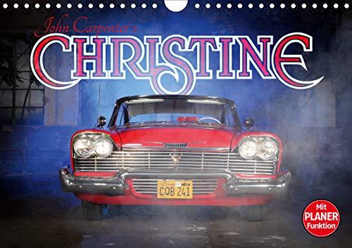 John Carpenter´s Christine (Wandkalender 2021 DIN A4 quer)