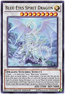 Yu-Gi-Oh! - (CT13-EN009) - Yugioh - Blue-Eyes Spirit Dragon - 2016 Mega-Tins - Limited Edition - Ultra Rare