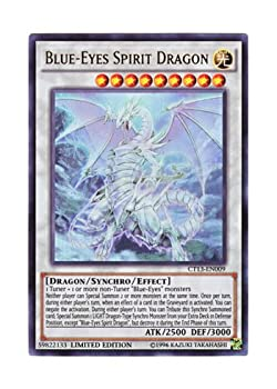 Yu-Gi-Oh! -  CT13-EN009  - Yugioh - Blue-Eyes Spirit Dragon - 2016 Mega-Tins - Limited Edition - Ultra Rare