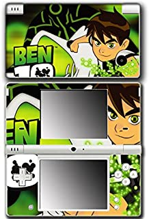 Ben 10 Ten Aggregor Watch Omnitrix Alien Force Ultimate Omniverse Video Game Vinyl Decal Skin Sticker Cover for Nintendo DSi System