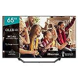 Hisense 65A76GQ QLED 2021 Gaming Series, 65 Pulgadas 4K UHD Dolby Vision HDR Smart TV con Youtube, Netflix, Freeview Play y Alexa Built-in, HDMI 2.1, Bluetooth, certificación TÜV