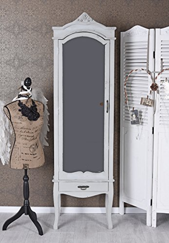Unbekannt Wäscheschrank Antik Spiegelschrank Kleiderschrank Schuhschrank Garderobenschrank Palazzo...