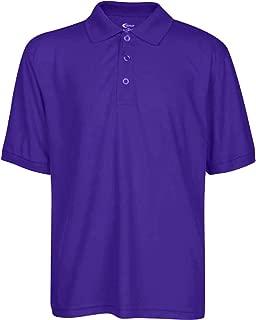 Boys High Moisture Wicking Polo T Shirts