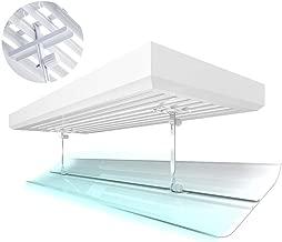 dianhai306 Aire Acondicionado Deflectores De Aire Acondicionado Deflector Ajustable Anti Directo Soplado Parabrisas Aire Gu/ía Cubierta para El Hogar