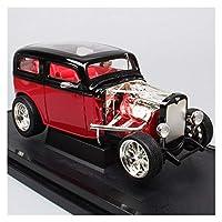 1/18に適用するフォードモデルチューダーセダンスケールメタルダイカストモデルカーおもちゃレプリカ子供用車