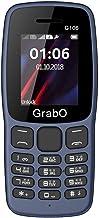 Grabo G106 Basic Keypad Mobile Phone with Dual Sim, Wireless FM, Big Torch Light, Multi Language Support, 1100 MAH Battery...